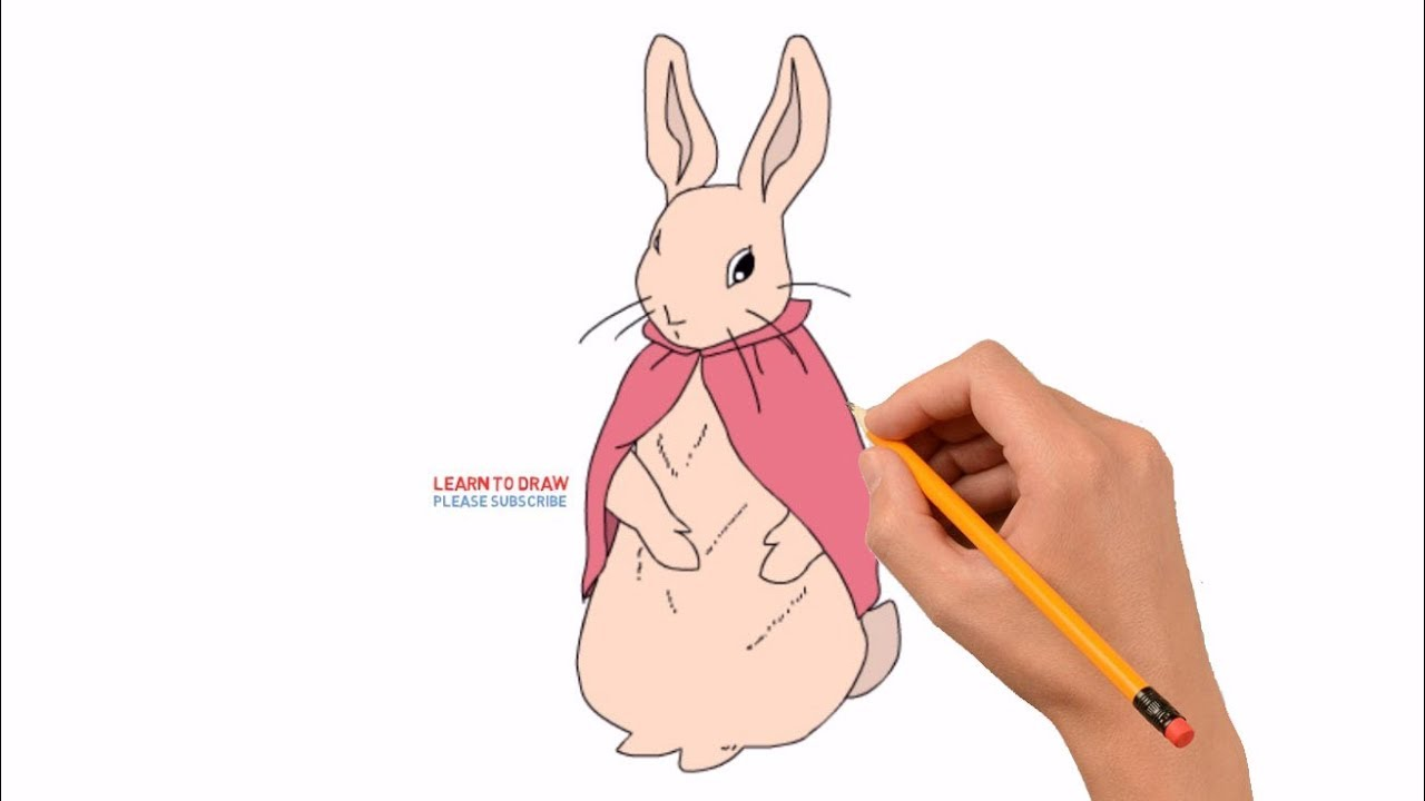 How to Draw Flopsy Rabbit From Peter Rabbit Movie ...