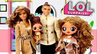Barbie LOL Family Morning Routine DA Boss Doll - School Rumors & Sister Drama