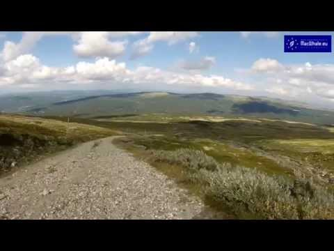 Mountain biking in Mount Hummelfjell (Os, Hedmark, Norway)