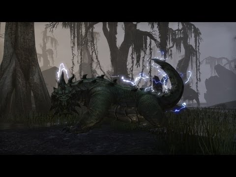 Elder Scrolls Online video reveals a new monster, the deadly marsh-dwelling Wamasu