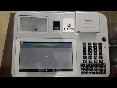 How to update new version of oasys pos device  mantra & rd services
