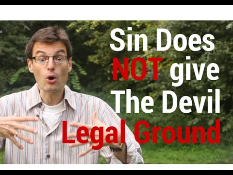 Myth Busted: Sin Does NOT Give The Devil A Right (Legal Ground) In Your Life!