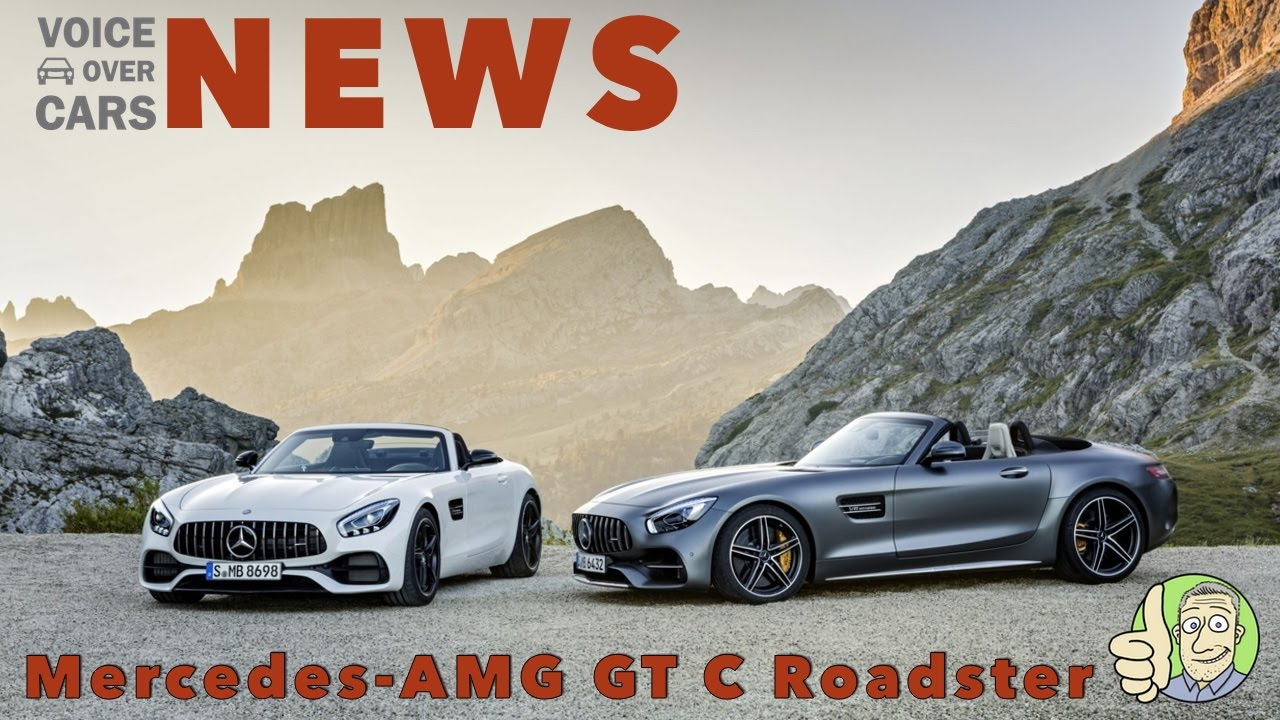 Mercedes-AMG GT C Roadster - Traumwagen - Voice over Cars - News