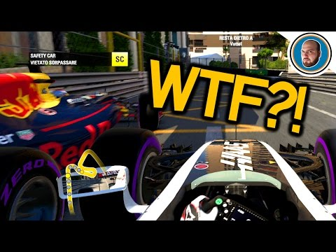 Verstappen sviene durante la safety car?!? F1 2016 | Thrustmaster Formula 1 GoPro