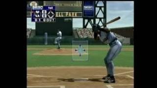 World Series Baseball 2K1 Dreamcast Gameplay_2000_07_20