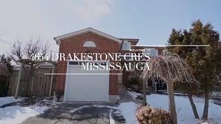 SOLD!! 4654 Drakestone Cres Mississauga | Virtual Tour