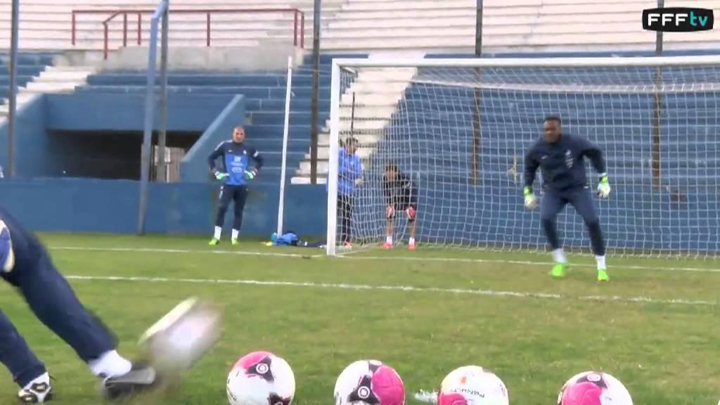 equipe de france   sp u00e9cifique gardiens en uruguay