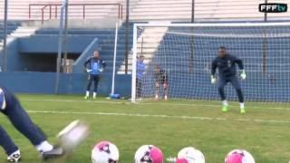 Equipe de France : Spécifique gardiens en Uruguay