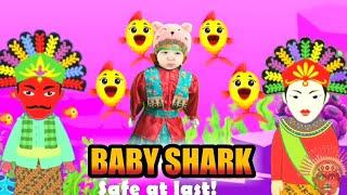 BABY SHARK BABY DOLL ONDEL ONDEL ANIMATION