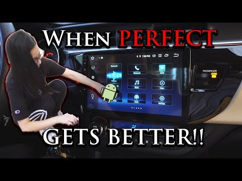 10.2 Inch Screen In Her Corolla!!  | 2014-2019 Unbox/Wiring Install!
