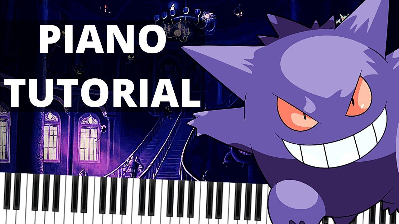Download Pokemon Lavender Town Piano Tutorial | lavender town music piano easy