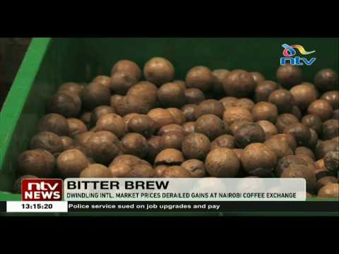 Dwindling international market prices derail gains at Nairobi Coffee Exchange
