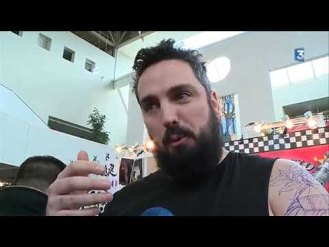 Salon du tatouage de toulouse les fran ais de plus en plus adeptes youtube - Salon du tatouage toulouse ...
