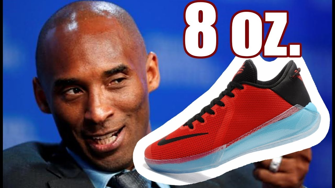 The World's Lightest Basketball Shoes Of 2018 Is By Kobe Bryant?