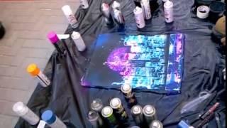 Рисование баллончиками. Как рисовать аэрозольными красками