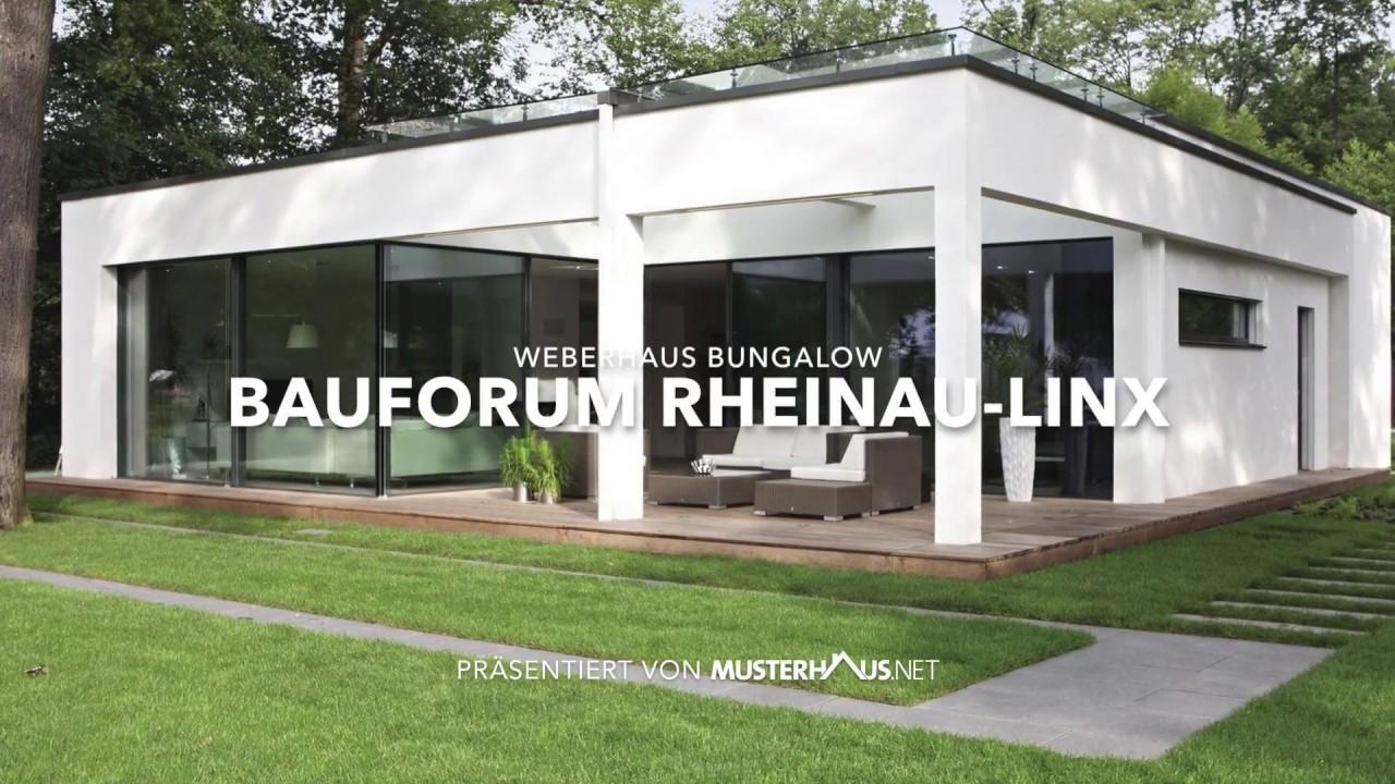 Bungalow Im Bauhausstil Von Weberhaus Youtube
