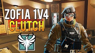 Zofia 1v4 Clutch - All NEW Operation White Noise Operators Gameplay TTS | Rainbow Six Siege
