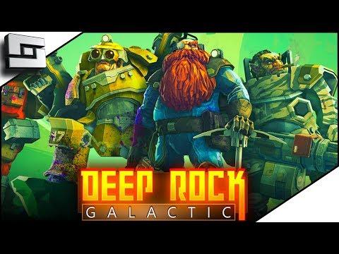 ALIEN SWARMS! Deep Rock Galactic Gameplay