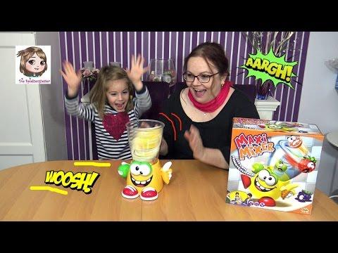 MAXI MIXER 🍓 Achtung! Obst fliegt uns um die Ohren! 🍊 Aktionsspiel | Splash Toys