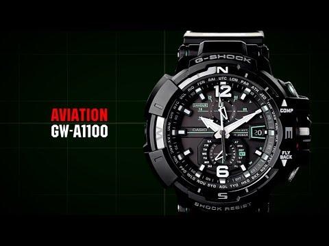 Casio G-Shock Gravitymaster GW-A1100-1A