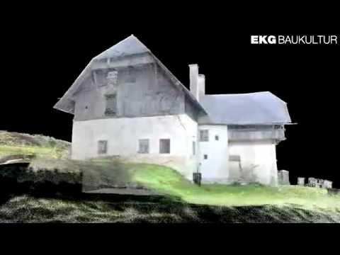 Airborne und terrestrisches 3D-Laserscanning der Burg Hochosterwitz