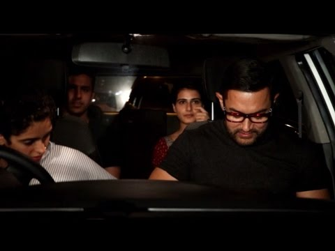 Aamir Khan Dine out with Dangal girls; Watch Video | Filmibeat