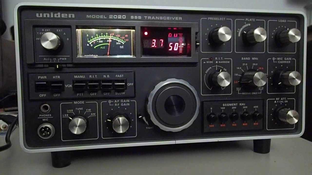 Best Shortwave Radio 2020 Uniden 2020 SSB Transceiver   Tempo 2020   1975   shortwave ham