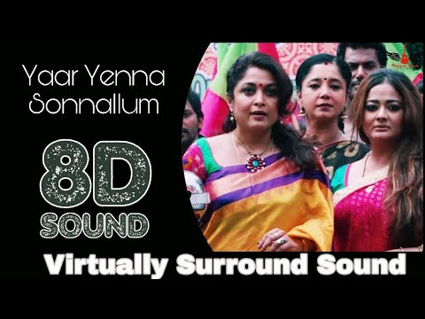 Yaar Yenna Sonnalum  8d Audio Song  Aambala  Vishal, Hansika  Hiphop Thamizha 8d Songs