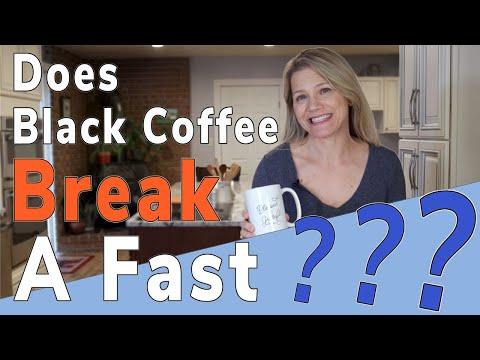 does-black-coffee-break-a-fast?-research-&-test