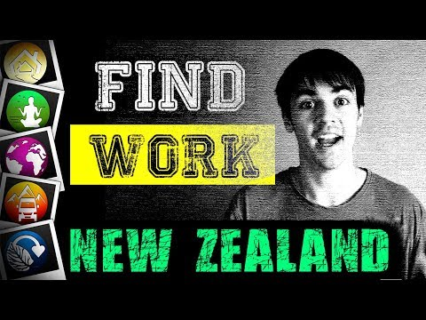 How to find WORK in NEW ZEALAND... What I did!
