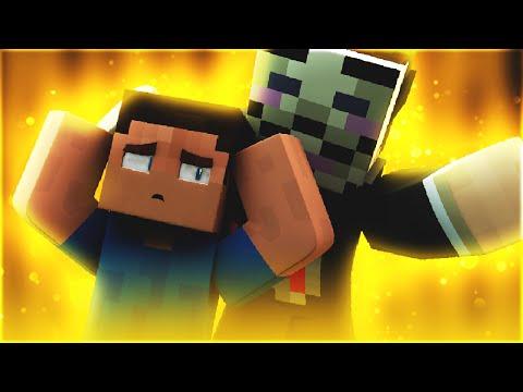 HACKER TROLLS NOOB!! ( Minecraft 100 Player Skywars Trolling w/ TheCampingRusher )