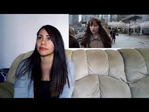 Fifty Shades Darker Official Trailer 1 Cynthia's  Reaction  2017 Dakota Johnson Movie