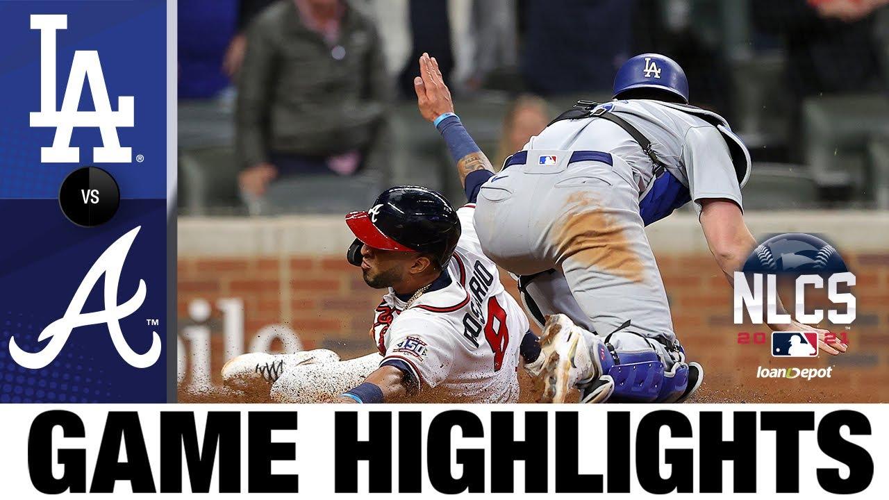 Download Dodgers vs. Braves NLCS Game 2 Highlights (10/17/21) | MLB Highlights