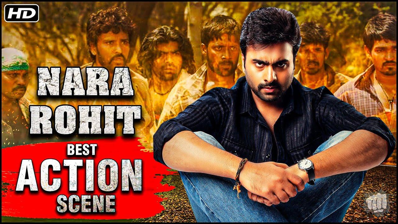 Nara Rohit Best College Action Scene | Shankara Movies Action Scenes | South Dubbed Action Movies