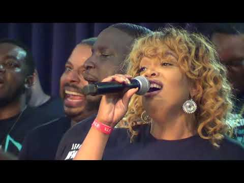 """New Direction Reunion Choir singing-""""What Manner of Man is This"""""""