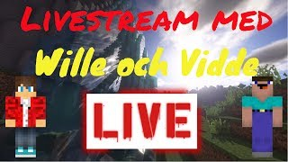 Road To 500 subs - Chill Minecraft stream!! Smp, Minigames och Mer!!!!