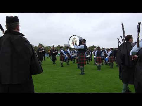 Worlds 2017 - Friday - 78th Fraser Highlanders Pipe Band - March Start