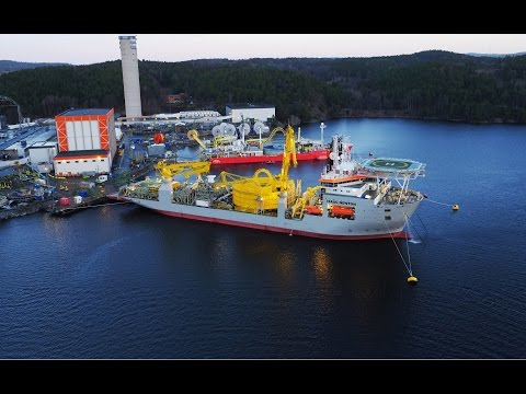 Jan De Nul Group - CLV Isaac Newton heads to its first mission (Norway)
