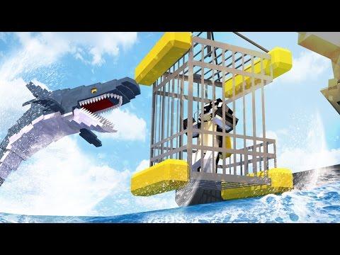 Minecraft | DEEP OCEAN DIVING SURVIVAL: Aquatic Craft Mod! (Sharks, Fish, Sea Horses)