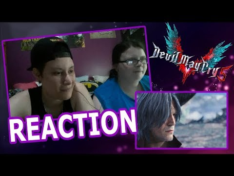 Devil May Cry 5 Release Date Trailer - Gamescom 2018 REACTION!