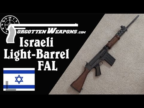 Israeli Light-Barrel FAL (from DS Arms) – Forgotten Weapons