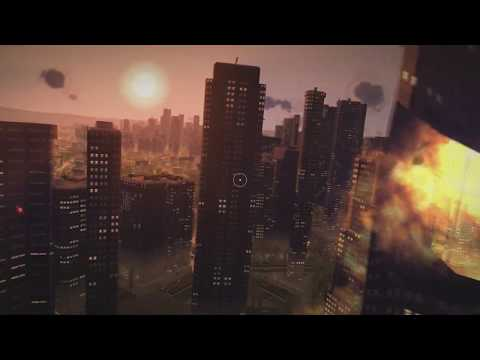Super Hero/ Villain Game - Megaton Rainfall City Destruction ( Destruction Physics )