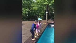 2018 6월 강촌 스타밸리 펜션 수영장