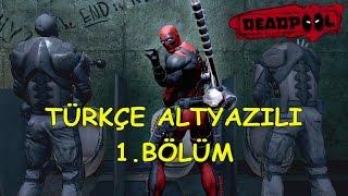 (türkçe gameplay) deadpool - new game plus 1.bölüm / senaryo yok, eğlence var