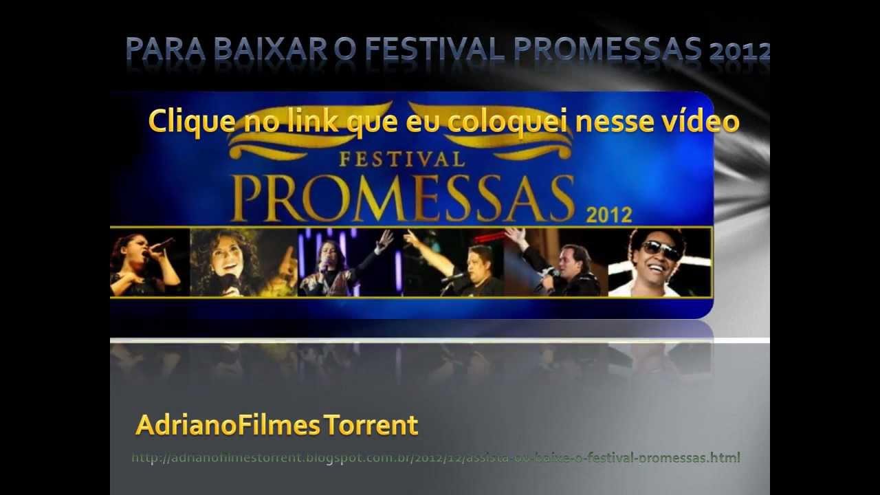 dvd festival promessas 2012