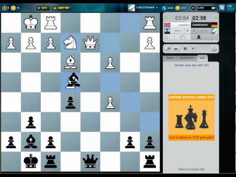 Blitz Chess #56 - Grunfeld Defence - Pawn Sacrifice for compensation