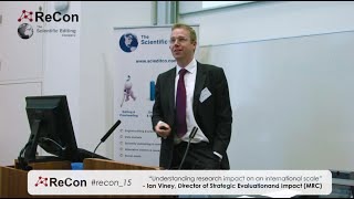 Ian Viney, Director of Strategic Evaluation and Impact, Medical Research Council (MRC)