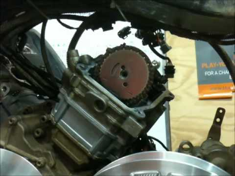 2013 Rzr Engine Diagram Setting The Timing On A Canam Motor Youtube