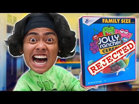 Trying VIRAL REJECTED Cereals You Never Knew About