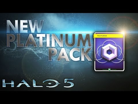 Halo 5: Guardians - NEW Platinum REQ  Pack Opening! [DO NOT BUY!!]